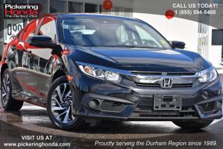 Used 2016 Honda Civic Sedan EX CVT HS for sale in Pickering, ON
