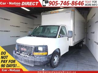 Used 2016 GMC Savana 3500 1WT| WE WANT YOUR TRADE| for sale in Burlington, ON