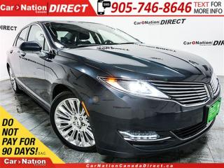 Used 2014 Lincoln MKZ | LEATHER| SUNROOF| NAVI| BACK UP CAMERA| for sale in Burlington, ON