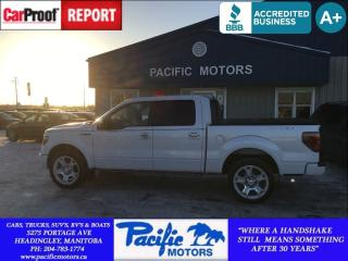 Used 2011 Ford F-150 Lariat Limited for sale in Headingley, MB