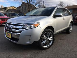 Used 2013 Ford Edge SEL LEATHER NAVIGATION PANORAMA ROOF CHROME for sale in St Catharines, ON