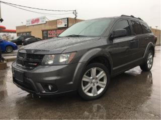 Used 2014 Dodge Journey SXT MOONROOF BIG SCREEN CHROME MAGS for sale in St Catharines, ON