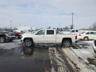 Used 2014 GMC SIERRA 1500 SLT CREW CAB 4WD for sale in Cayuga, ON