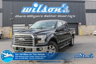 Used 2015 Ford F-150 XLT/XTR SUPERCREW 4X4 NAVIGATION! REAR CAM! REMOTE START! HEATED SEATS! POWER PACKAGE! 18
