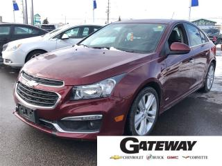 Used 2016 Chevrolet Cruze 2LT|RS|LEATHER|SUNROOF|BLUETOOTH| for sale in Brampton, ON