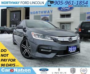 Used 2016 Honda Accord Sport | REAR CAM | LEATHER | SUNROOF | for sale in Brantford, ON