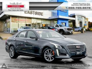 Used 2017 Cadillac CTS - for sale in Markham, ON