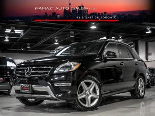Used 2015 Mercedes-Benz ML 350 DESIGNO|AMG|DISTRONIC|PRE-SAFE BRAKE|NAVI|BLINDSPOT|360 CAM|BLUETEC|LOADED for sale in North York, ON