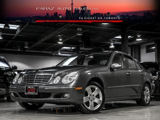 Used 2006 Mercedes-Benz E500 4MATIC|NAVI|PARKING SENSORS|AIRMATIC|LOADED for sale in North York, ON