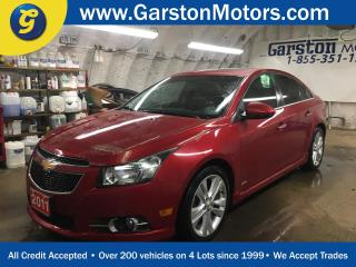 Used 2011 Chevrolet Cruze LTZ*LEATHER*POWER SUNROOF*HEATED FRONT SEATS*PIONEER AUDIO*PHONE CONNECT*KEYLESS ENTRY w/REMOTE START*CLIMATE CONTROL*POWER WINDOWS/LOCKS/MIRRORS* for sale in Cambridge, ON