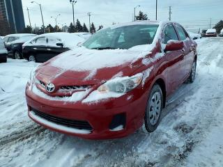 Used 2013 Toyota Corolla CE, Sedan, Heated Seats, Air Conditioning for sale in Scarborough, ON