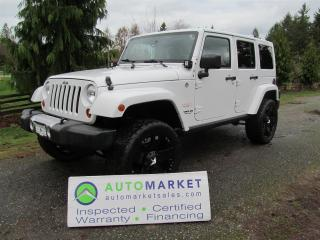 Used 2011 Jeep Wrangler Unlimited Sahara 4WD LIFT INSP, WARR for sale in Surrey, BC