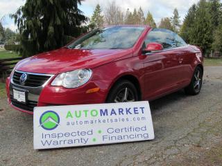 Used 2007 Volkswagen Eos AUTO, INSP, FREE WARRANTY for sale in Surrey, BC