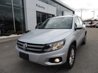 Used 2017 Volkswagen Tiguan Wolfsburg Edition for sale in Pickering, ON