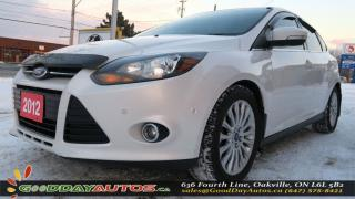 Used 2012 Ford Focus Titanium|NO ACCIDENT|ALLOYS|REVERSE CAM|LEATHER for sale in Oakville, ON