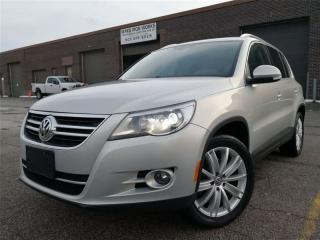 Used 2009 Volkswagen Tiguan TRENDLINE|ACCIDENT FREE|LOW KMS|LOADED|NAVIGATION for sale in Oakville, ON