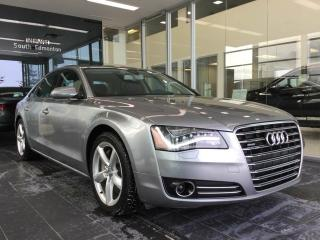 Used 2012 Audi A8 4.2 PREMIUM, AWD, NAVI, ACCIDENT FREE for sale in Edmonton, AB