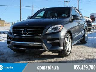 Used 2015 Mercedes-Benz ML-Class 400 SPORT 1 OWNER ACCIDENT FREE LOCAL for sale in Edmonton, AB