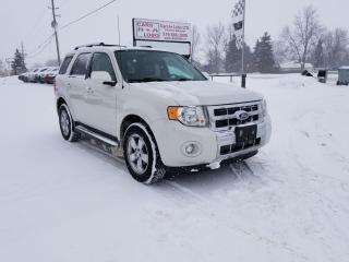 Used 2011 Ford Escape Limited for sale in Komoka, ON