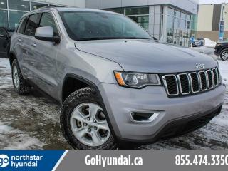 Used 2017 Jeep Grand Cherokee LAREDO/V6/BACKUPCAM/4X4/ALLOYS for sale in Edmonton, AB