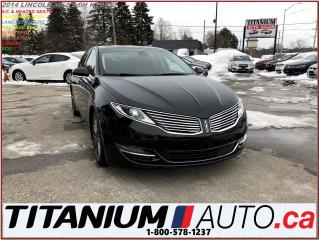 Used 2014 Lincoln MKZ Hybrid+GPS+Camera+Pano Roof+Lane & Blind Spot+Mass for sale in London, ON