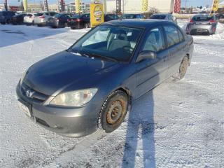 Used 2004 Honda Civic Lx,petit Budget for sale in Gatineau, QC