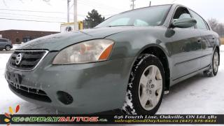 Used 2003 Nissan Altima S NEW TRADE-IN CRUISE CONTROL POWER LOCKS AS IS for sale in Oakville, ON
