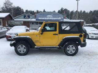 Used 2011 Jeep Wrangler SPORT for sale in Flesherton, ON