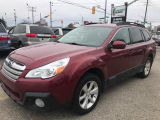 Used 2013 Subaru Outback 2.5i Touring l No Accidents l AWD for sale in Waterloo, ON