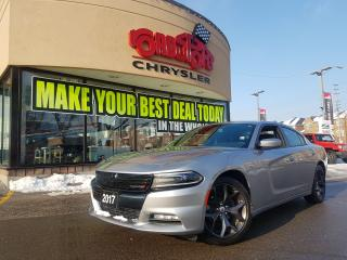 Used 2017 Dodge Charger SXT NAVI P-ROOF BEATS AUDIO R-CAM RALLYE SE for sale in Scarborough, ON