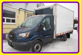 Used 2015 Ford TRANSIT-250 12' Cube Van, Turbo Diesel, Loaded for sale in Woodbridge, ON