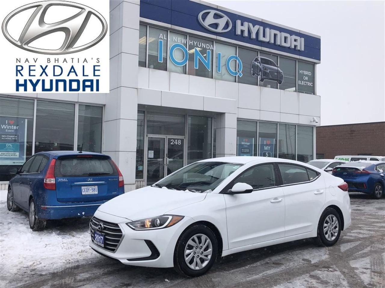 2017 Hyundai Elantra LE- AUTO, A/C, PWLM & KEYLESS ENTRY