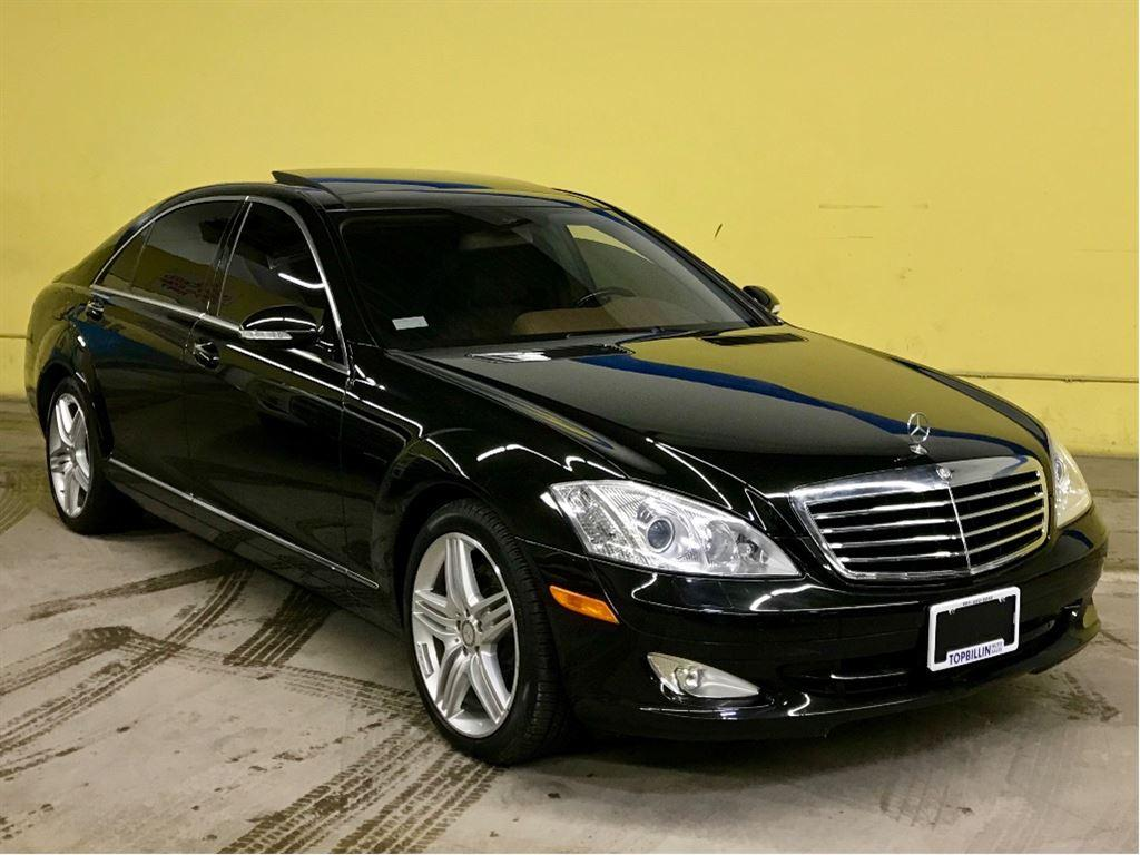 mercedes low sedan benz s miles class luxury detail used