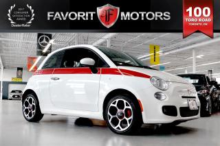 Used 2016 Fiat 500 Sport | LTHR | BLUETOOTH | RED BRAKE CALIPERS for sale in North York, ON