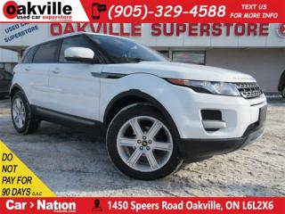 Used 2013 Land Rover Evoque Pure | LEATHER | B/U CAM | HTD SEATS | BLUETOOTH for sale in Oakville, ON