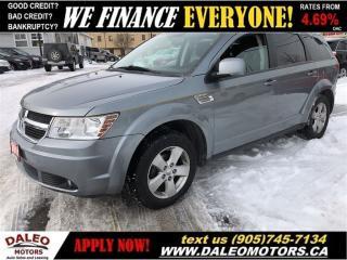 Used 2010 Dodge Journey SXT| V6 | 7 PASSENGER | ONLY 87KMS! for sale in Hamilton, ON