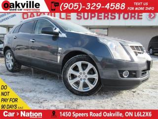 Used 2010 Cadillac SRX AWD+PANO ROOF+NAVI+B/U CAM+BLUETOOTH for sale in Oakville, ON