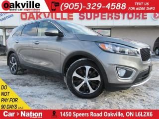 Used 2017 Kia Sorento EX V6 7 PASS + LEATHER + BLUETOOTH + BACKUP CAM for sale in Oakville, ON