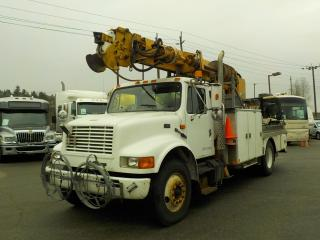 Used 1995 International 4900 DT466 Digger Truck Air Brakes Turbo Diesel for sale in Burnaby, BC