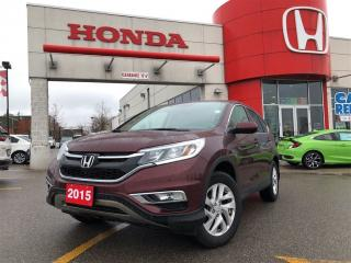 Used 2015 Honda CR-V EX, one owner, alloy wheels for sale in Toronto, ON