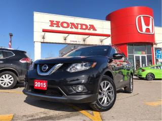 Used 2015 Nissan Rogue SL, leather, panoramic roof for sale in Scarborough, ON