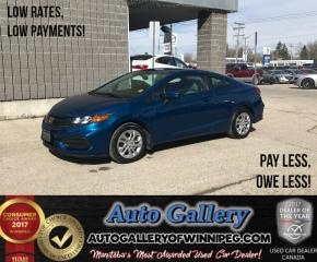 Used 2014 Honda Civic Coupe LX for sale in Winnipeg, MB