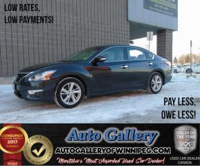 Used 2014 Nissan Altima 2.5 SL *Nav for sale in Winnipeg, MB