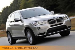 Used 2013 BMW X3 xDrive28i Pano Roof Park Senso for sale in Winnipeg, MB