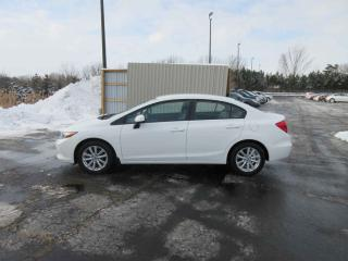 Used 2012 Honda Civic LX FWD for sale in Cayuga, ON
