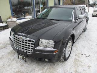 Used 2010 Chrysler 300 'GREAT VALUE' POWER EQUIPPED TOURING EDITION 5 PASSENGER 3.5L - V6.. LEATHER.. CD/AUX INPUT.. KEYLESS ENTRY.. for sale in Bradford, ON