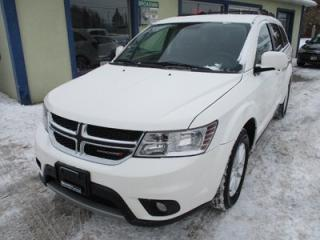 Used 2014 Dodge Journey POWER EQUIPPED SXT MODEL 7 PASSENGER 3.6L - V6.. BENCH.. 3RD ROW.. REAR CLIMATE CONTROLS.. CD/AUX INPUT.. KEYLESS START.. for sale in Bradford, ON
