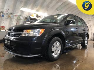 Used 2012 Dodge Journey Dual climate control * Push button ignition * Telescopic/tilt steering * Intermittent front and rear wipers * Power windows/locks/mirrors * Phone conn for sale in Cambridge, ON