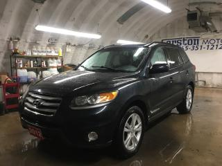 Used 2012 Hyundai Santa Fe GLS*SPORT*3.5 V6*AWD*LEATHER*POWER SUNROOF*PHONE CONNECT*POWER DRIVER SEAT*HEATED FRONT SEATS*FOG LIGHTS* for sale in Cambridge, ON