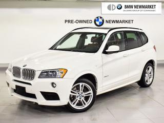 Used 2014 BMW X3 xDrive28i M Sport Line for sale in Newmarket, ON